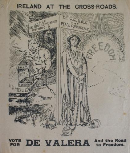 NLI LO P116 - De Valera as Woman
