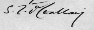 O Ceallaigh Signature 2 - From a 1932 Letter