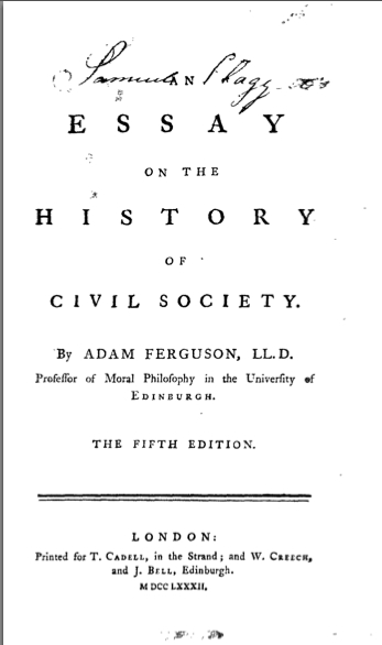 an essay on the history of civil society wiki [the civil society reader] western political thought on the subject of by virginia ann hodgkinson, michael w foley.