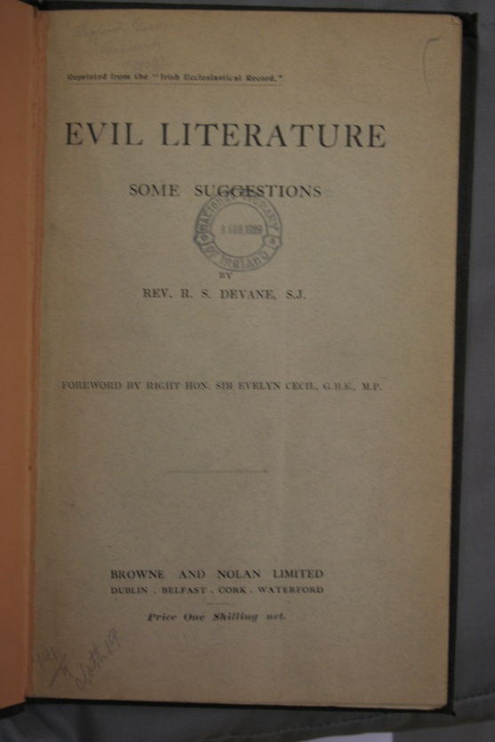 Evil Literature